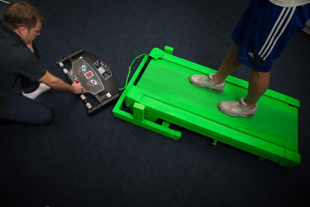 Green Screen Treadmill