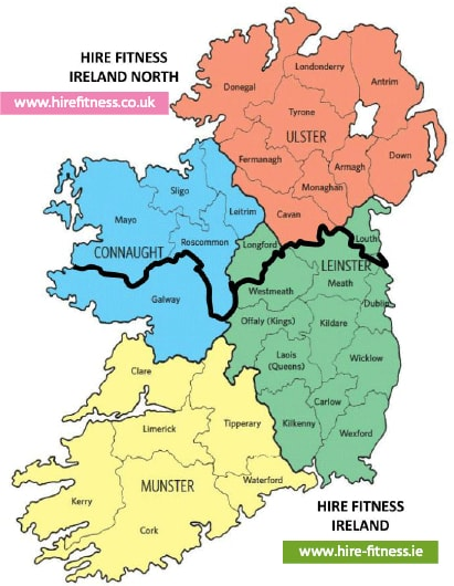 Hire-Fitness-Ireland-Map