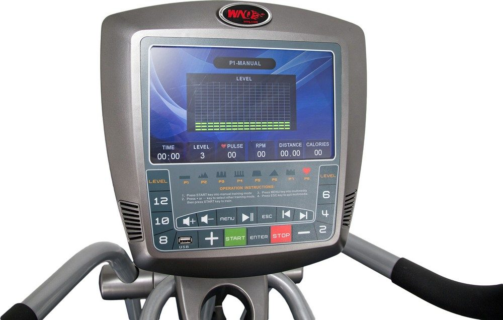 Deluxe Commercial Elliptical Cross Trainer