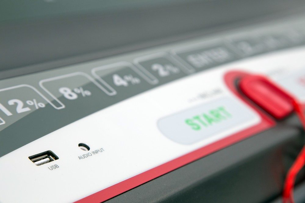 Premium Commercial Treadmill Console